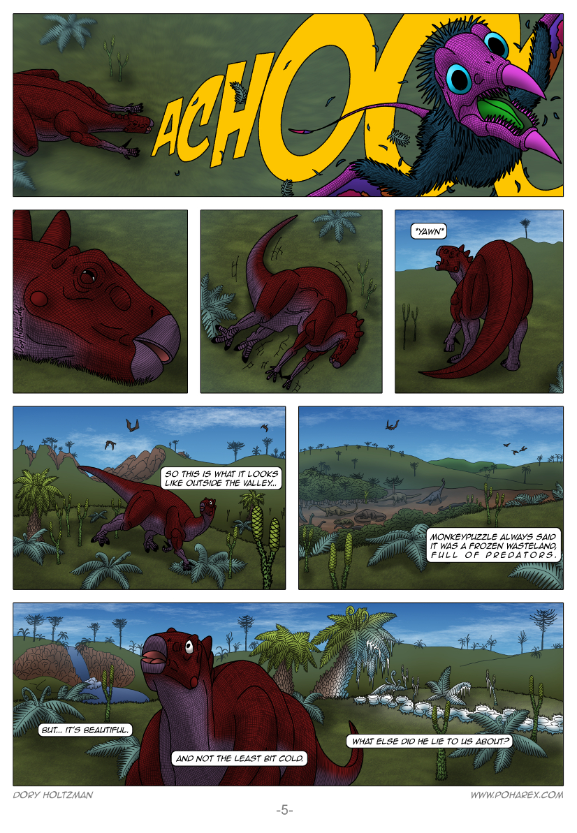 Poharex Issue #13 Page #5