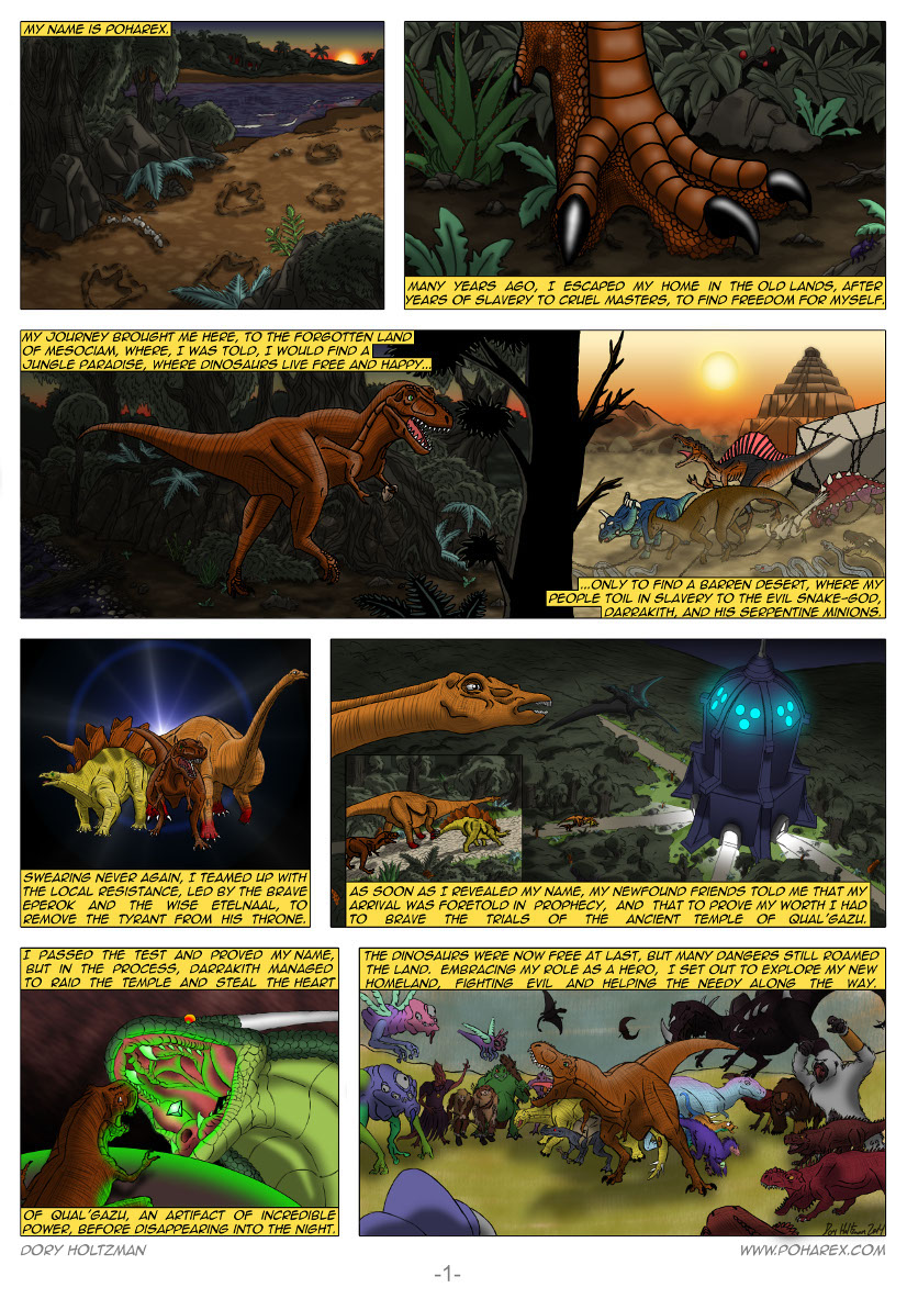 Poharex Issue #12 Page #1